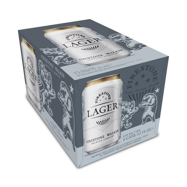 Firestone Walker LAGER Dose Case 24 x 355 ml / 4.5 % USA
