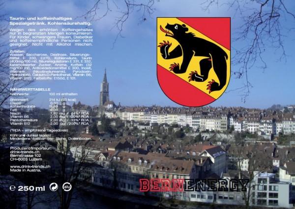 BERN Energy Drink 250 ml Österreich