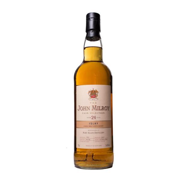 Port Ellen JOHN MILLROY Selection 1982 - 23 Year Single Malt Whisky 70 cl / 56.8 % Schottland