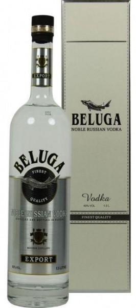BELUGA Vodka Classic NOBLE Magnum 1.5 Liter / 40 % Russland