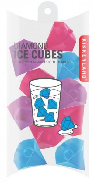 Kikkerland DIAMAND Ice Cubes 10 Stück per Pack