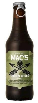 MAC`S Green Beret IPA 330 ml / 5.6 % Neuseeland