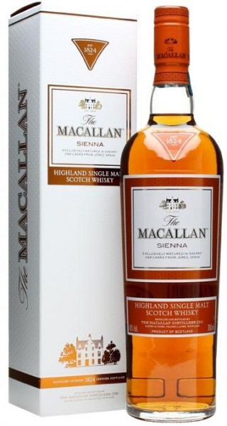 Macallan Sienna 1824 - 70 cl / 40 % Schottland