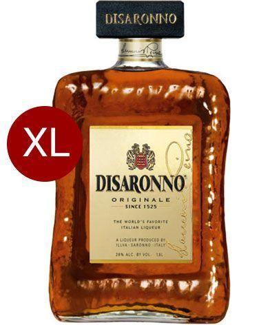 Amaretto Disaronno Mandellikör MAGNUM Flasche 1.75 Liter / 28 % Italien