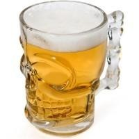 Kikkerland SKULL GLAS CUP 520 ml