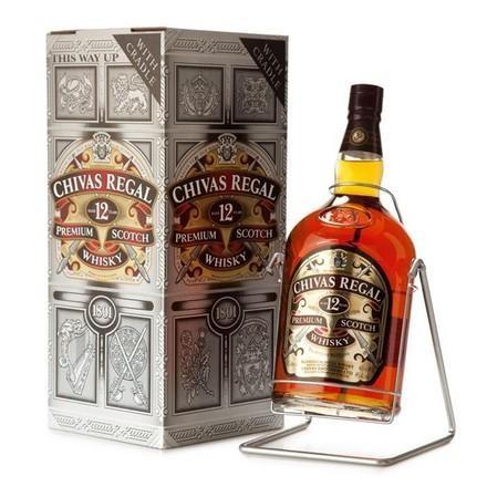 Chivas Regal SWING 12 Jahre Blended Scotch Whisky 4.5 Liter / 40 % Schottland