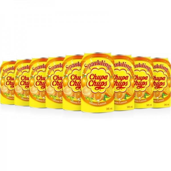 Chupa Chups Orange Kiste 24 x 345 ml Korea