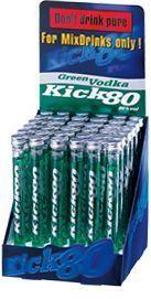 Kick 80 GREEN Vodka 20 ml / 80 % Schweiz