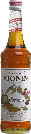 MONIN Premium Caramel Sirup 70 cl Frankreich