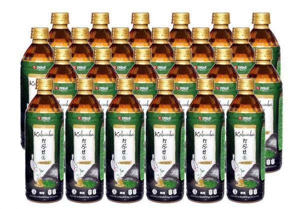 Oishi Grüntee KABUSECHA Zuckerfrei Kiste 24 x 400 ml PET Thailand