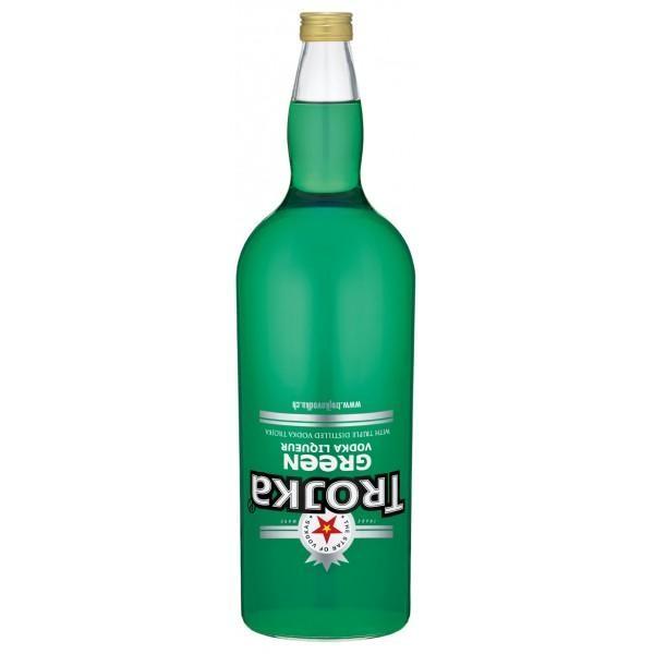 TROJKA GREEN Vodka Likör Gallone 4.55 Liter / 17 % Schweiz