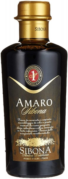 SIBONA AMARO Kräuterlikör 50 cl / 28 % Italien