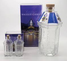 LOZÄRNER WASSERTÖRMLI SHOT Glasflaschen Leer 2 x 2.5 cl inkl. Verpackung