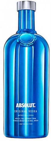 Absolut ELECTRIK Special Edition BLAU 70 cl / 40 % Schweden