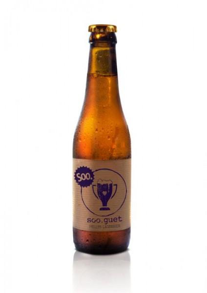 SOORSER Bier soo. guet HELLES LAGERBIER 330 ml / 4.5 % Schweiz