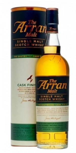 The Arran Single Malt Scotch Whisky SAUTERNESS CASK FINISH 70 cl / 50 % Schottland