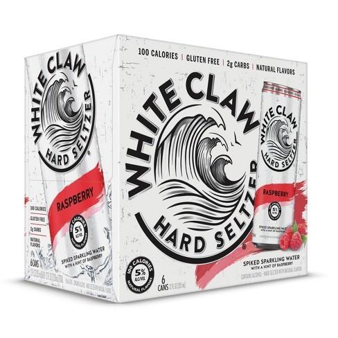 White Claw HARD SELTZER RASPBERRY Kiste 24 x 355 ml / 5 % USA
