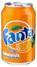 Fanta ORANGE 330 ml Dänemark