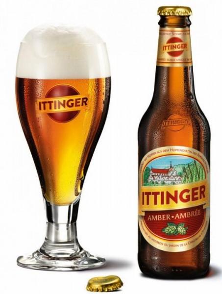 ITTINGER Klosterbier AMBER Bier 330 ml / 5.6 % Schweiz