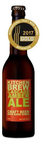 Kitchen Brew CASCADE AMBER 24 x 330 ml / 5.8 % Schweiz