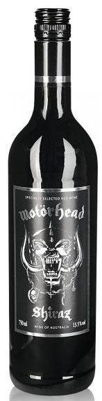 Motörhead Shiraz Red Wine 75 cl / 13.5 % Australien