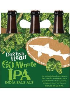 DOGFISH HEAD 60 Minute IPA Indian Pale Ale Case 24 x 355 ml / 6 % USA