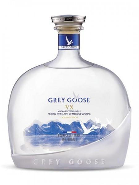 Grey Goose VX Ultimate Premium Vodka with a hint of Cognac 1 Liter 40 % Frankreich