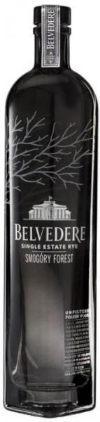 Belvedere SMOGORY FOREST Single Estate Rye Vodka 70 cl / 40 % Polen