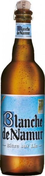 Blanche de Namur Bier sur Lie - Wheat Beer 75 cl / 4.5 % Belgien