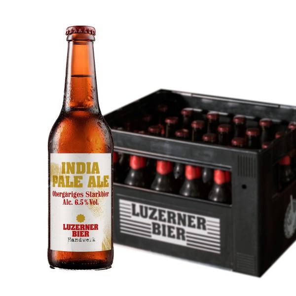 HANDWERK IPA Luzerner Brauerei Kiste 24 x 330 ml / 5.5 % Schweiz