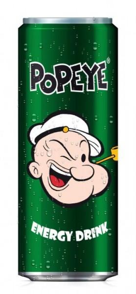 Popeye Energy Drink Dose 250 ml Deutschland