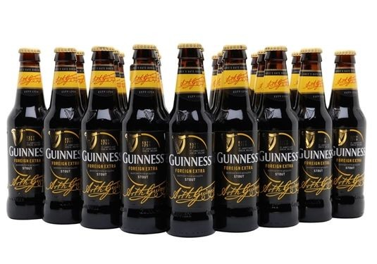 GUINNESS Special Export Bier Case 24 x 330 ml / 8 % Irland