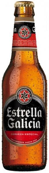 Estrella Galicia 250 ml / 5.5 % Spanien