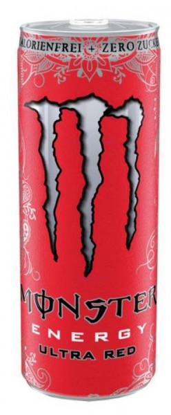 MONSTER Energy ULTRA RED Zero 355 ml UK