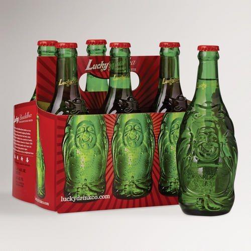 Lucky BUDDHA Bier Reliefflasche Kiste 24 x 330 ml / 4.8 % China