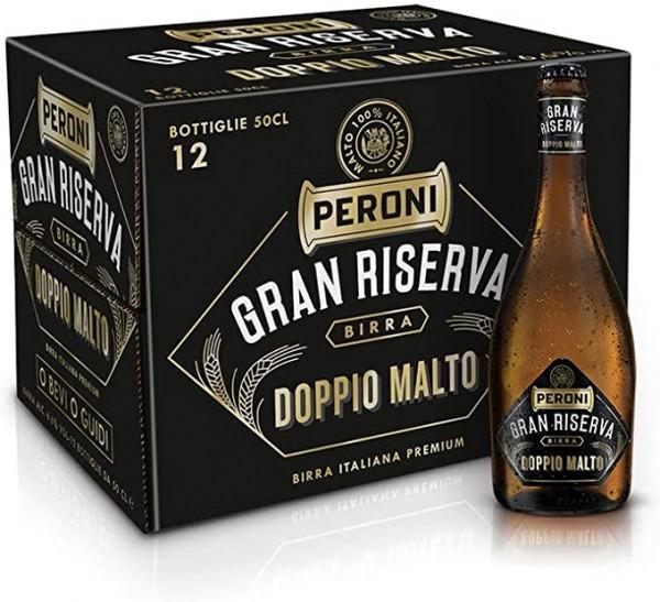 Peroni Gran Riserva DOPPIO MALTO Kiste 12 x 50 cl / 6.6 % Italien
