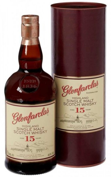 Glenfarclas 15 Years Highland Single Malt Whisky 70 cl / 46 % Schottland