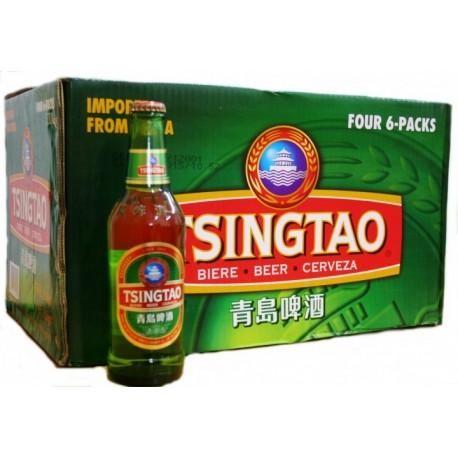 TSING TAO Bier 24 x 330 ml / 4.7 % China