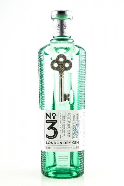 Berry Brothers No.3 London Dry Gin 70 cl / 46 % UK