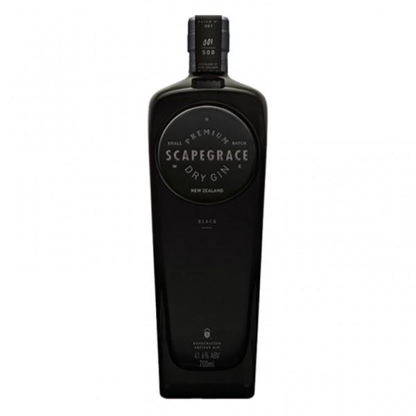SCAPEGRACE Premium BLACK Gin 70 cl / 41.6 % Neuseeland