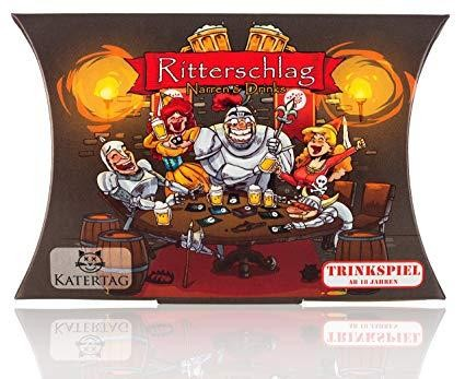 RITTERSCHLAG Fools & Drinks the most creative drinking game with 56 action cards by Katertag Germany