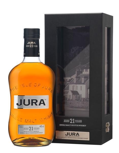 JURA 21 Years Special Edition Single Malt Scotch Whisky 70 cl / 44 % Schottland