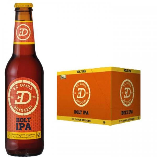 EC Dahls Bolt IPA Bier Kiste 24 x 330 ml / 6.9 % Norwegen