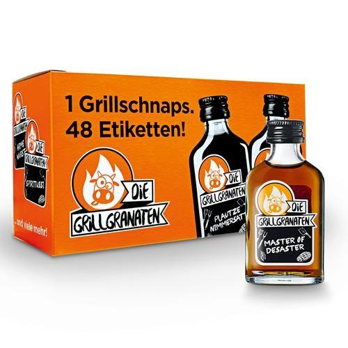 DIE GRILLGRANATEN Shot Kräuterlikör 2 cl / 30 % Schweiz