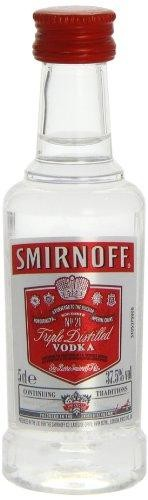SMIRNOFF Vodka PET 5 cl / 37.5 % UK