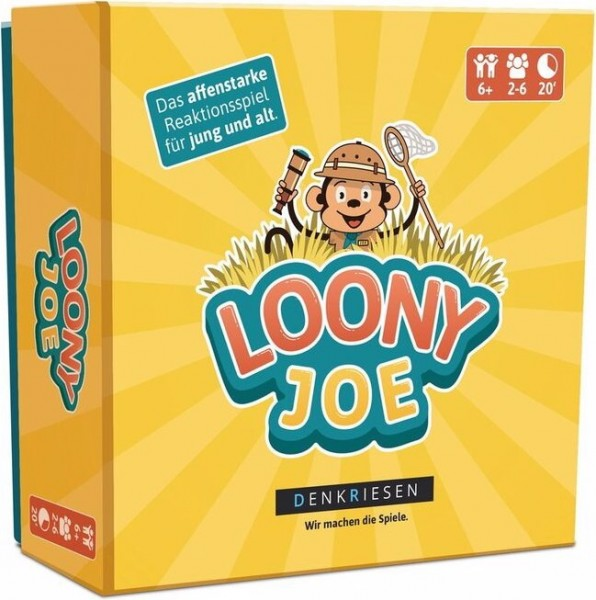 Denkriesen LOONY JOE - The monkey-strong reaction game for young and old Germany