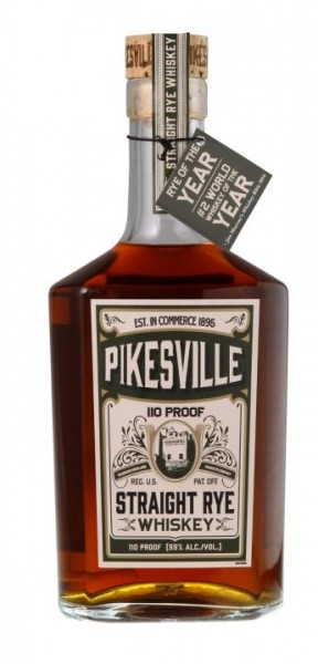 PIKESVILLE Straight Rye Whiskey 70 cl / 45 % USA