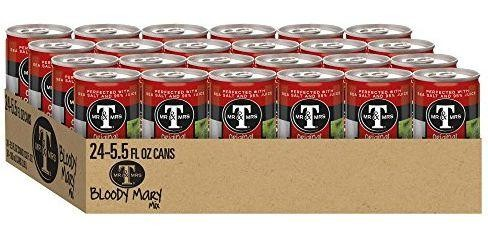 Mr & Mrs T Original Bloody Mary Cocktial Mix CAN Case 24 x 163 ml USA