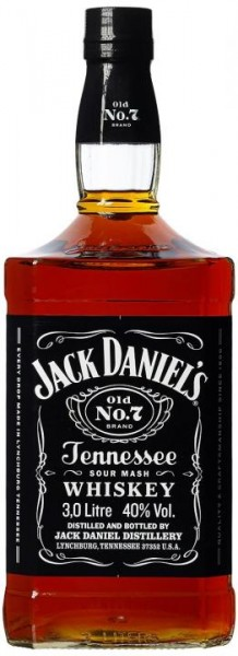 Jack Daniels old No. 7 Tennessee Whisky Grossflasche 3 Liter / 40 % USA