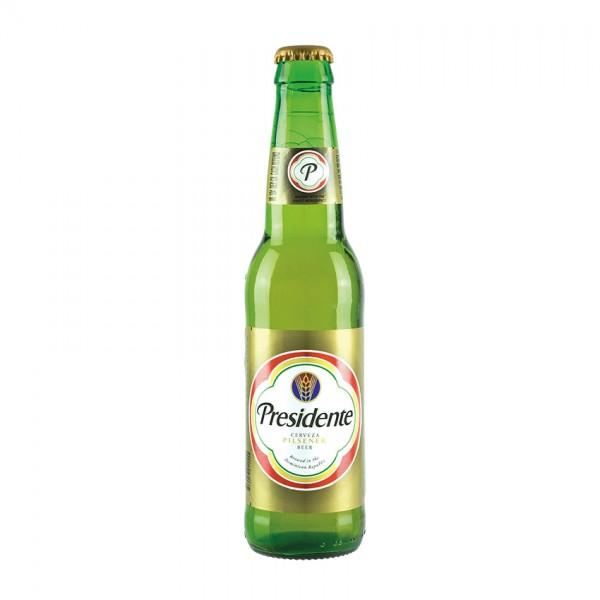 PRESIDENTE Pilsener 24 x 355 ml / 5 % Dom. Rep.